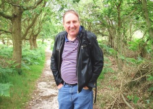 Nigel at Dunwich Heath