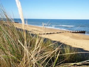 Horsey Sandunes and Beach, Norfolk